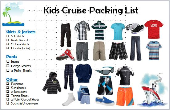 Kids Packing List