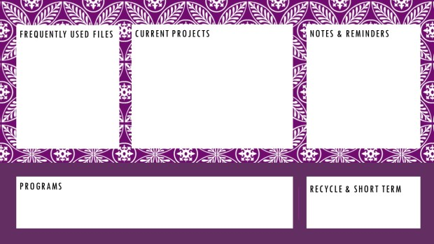Desktop Graphic - Purple