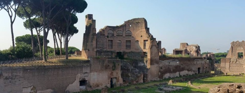 Roman Forums, Palatine Hill, July 2015