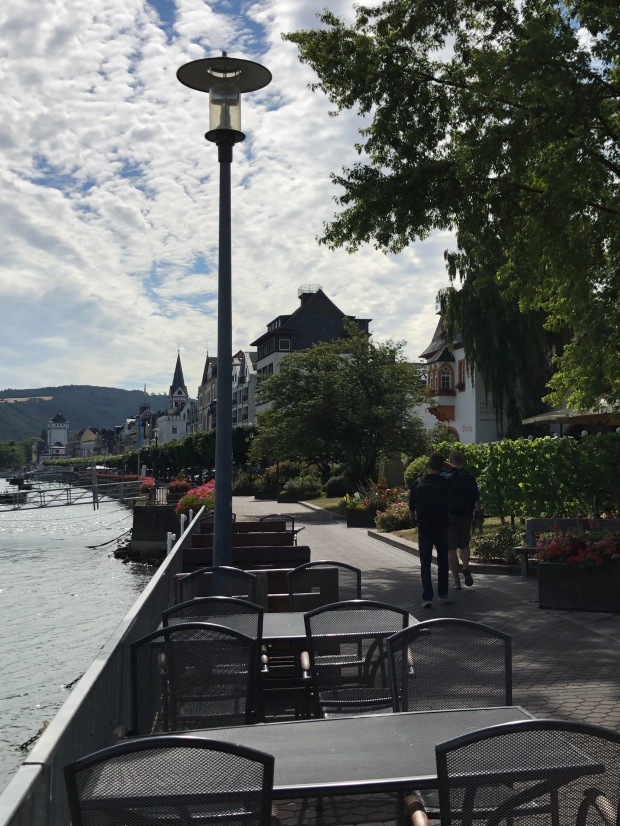 Boppard Along the Rhine Promenade